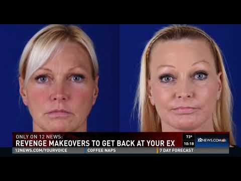 Dr. Shapiro on 12 News - Revenge Makeovers