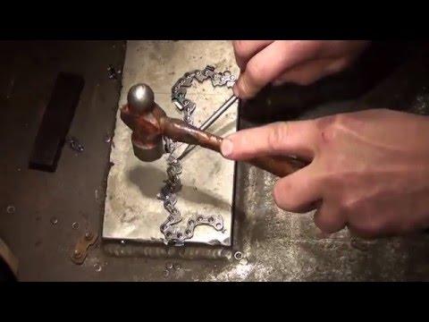 The chainsaw guy shop talk Chain repair