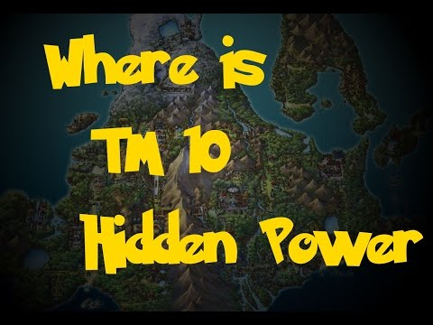 Where Is: TM 10 - Hidden Power (Location 2) (Pokemon Diamond/Pearl/Platinum)