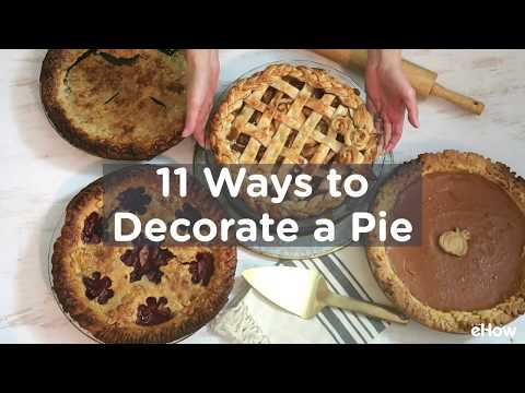 Decorative Pie Crusts Tutorial