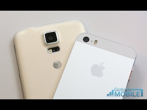 Galaxy S5 vs iPhone 5s: Which Should I Buy?