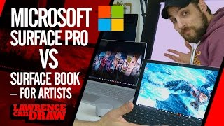 Microsoft Surface Pro 4 Vs Surface Book for artists