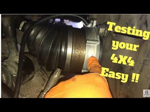 DIY How to test 4WD vacuum actuator
