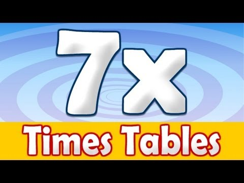 7 x Times Table Math Song