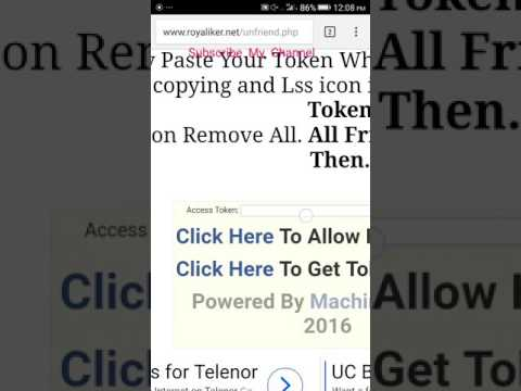 How To Unfriend Facebook Friend In One click From Mobile
