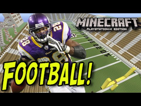 Minecraft Playstation - Football (Mini-Game) Minecraft PS4, Minecraft PS3