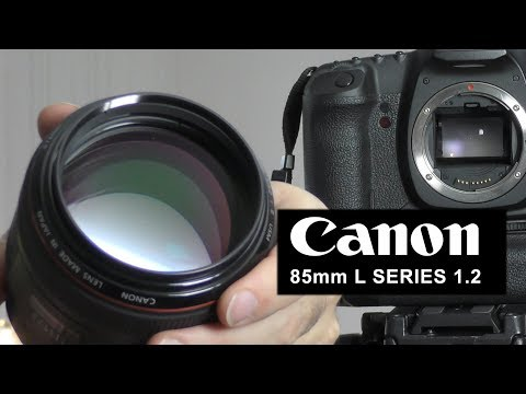 The Canon 85mm L Series 1.2 II Prime - Photo Samples at all apertures