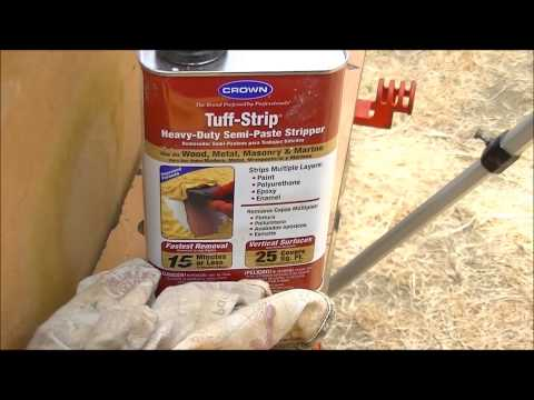 How I remove paint with Brake Fluid