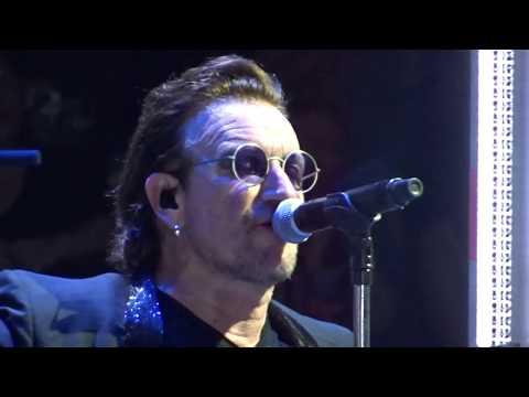 U2 - 2018 - City Of Blinding Lights (HD) Boston 06-21-2018 (Filmed from GA Edge's Side)