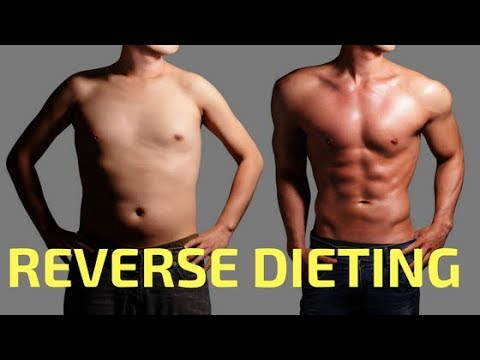 Reverse Dieting After Weight Loss - How to Stay Lean After Losing Weight