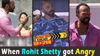 रोहित शेट्टी को आया गुस्स खतरों के खिलाड़ी में । Rohit Shetty got angry in Khatron ke Khiladi