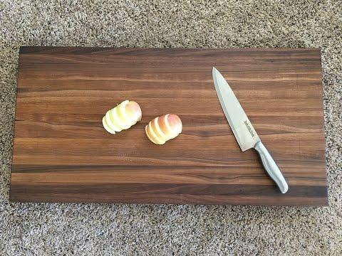 3 Minute Build: Walnut Cutting Board - Kraftmade