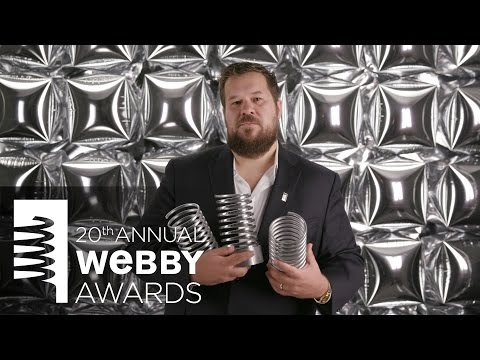 Wieden + Kennedy's 5-Word Speech at the 20th Annual Webby Awards