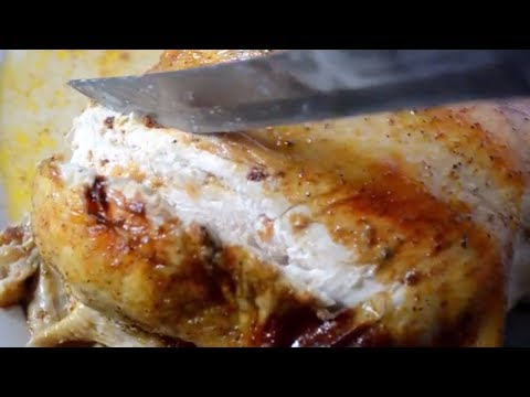 Cajun Roasted Chicken Recipe - How to Inject Cajun Butter Marinade
