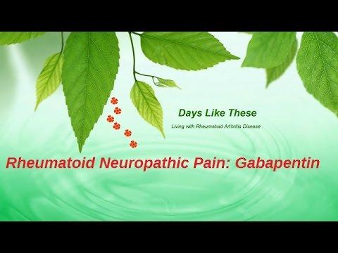 Rheumatoid Arthritis Pain Treatment: Gabapentin