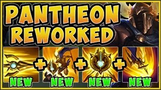 THIS REWORK IS 100% BEING NERFED! NEW PANTHEON REWORK IS 100% UNFAIR! - League of Legends Gameplay