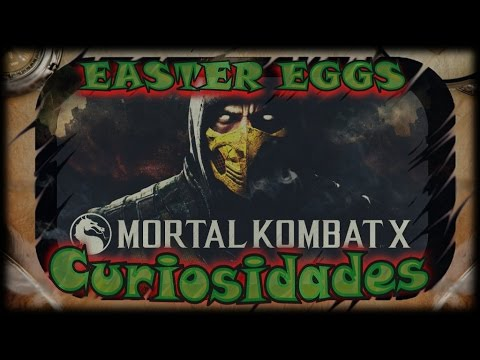 Easter Eggs e Curiosidades #3 - Mortal Kombat X
