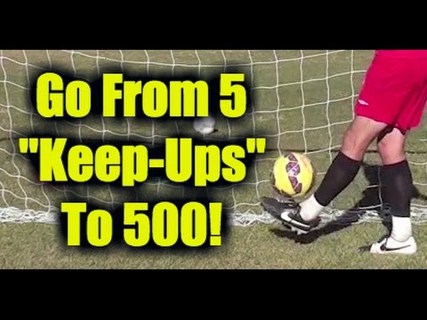 How To Juggle A Soccer Ball -