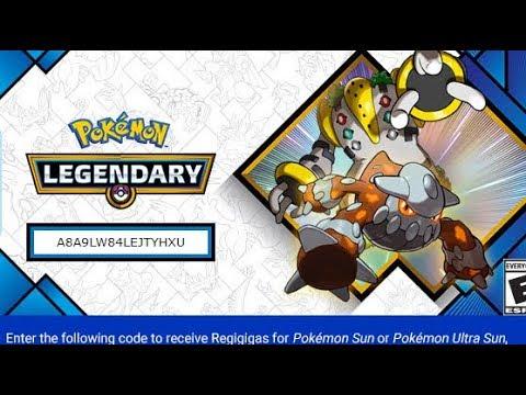 Pokemon Ultra Sun & Ultra Moon - HEATRAN & REGIGIGAS MYSTERY GIFT EVENT!