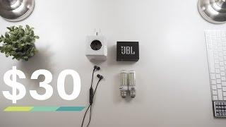 The Best Tech Under $30