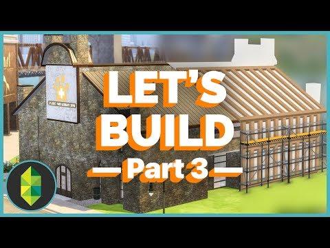Let's Build - Vet Clinic Remodeling PART 3 (Sims 4)