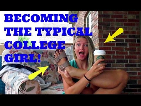HOW TO BE A TYPICAL COLLEGE GIRL (Vlog)