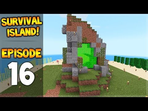 OMG! We Teleported To A Spawner!!!  Survival Island - Let's Play Episode 16