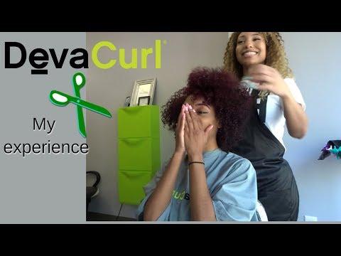 DevaCurl Salon Visit in Atlanta ! (Deva Cut on Natural Hair 2018 )
