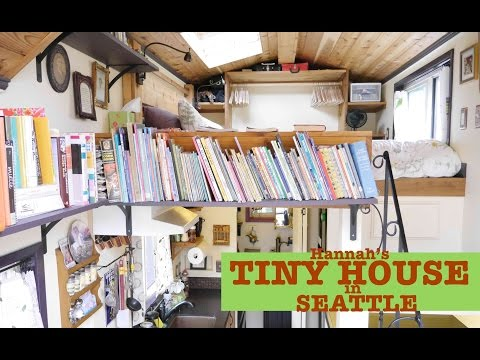 Seattle Woman builds/designs her own Tiny House