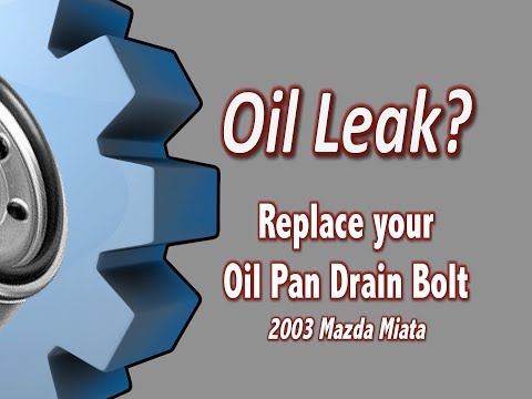 Replace Your Miata Oil Pan Drain Bolt With an Eco Magnetic Plug