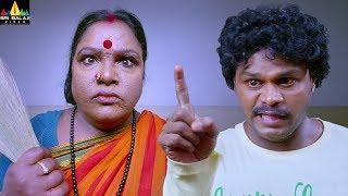 Sapthagiri funny fight with ladies | Lovers Movie Comedy | Tejaswi Madivada | Sri Balaji Video
