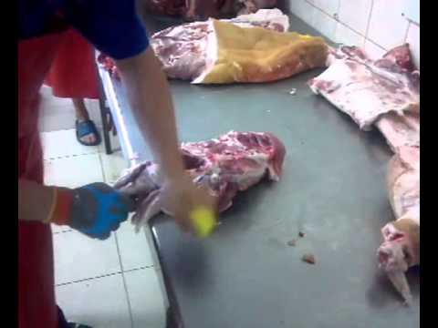 separated pork shoulder blade
