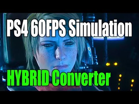 60FPS PS4 Destiny 2 - Hybrid Converter