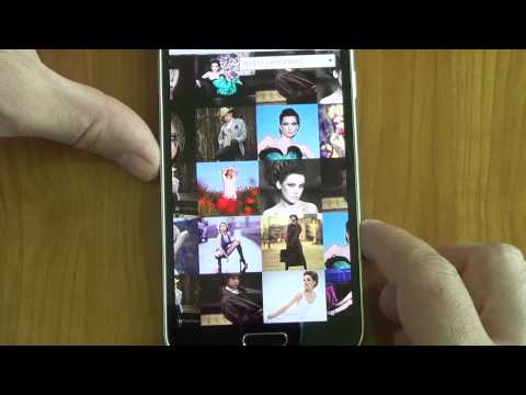 Infinite Grid Pro running on Android Samsung Galaxy S5 demo