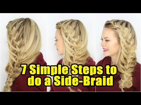 HOW TO DO SIDE BRAID HAIRSTYLES!! SOME SIMPLE STEPS TO DO A SIDE BRAID!! FOOTLOOSE