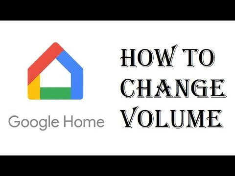 How To Change Sound Volume Google Home Mini - Google Home Set Audio Level 0-10