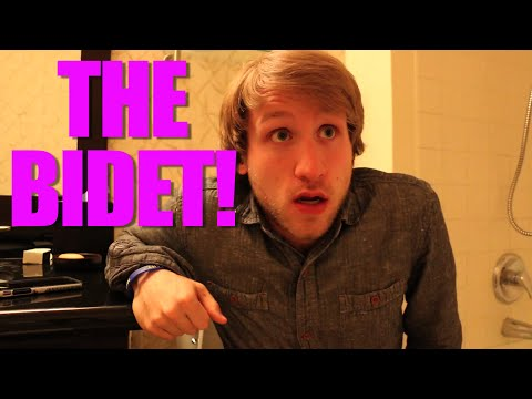 HOW TO USE A BIDET!