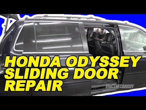 Honda Odyssey Sliding Door Repair the 'Easy' Way