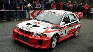 WRC Mitsubishi EVO RalliArt on Tarmac (Pure Engine Sound) HD
