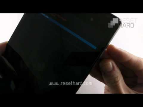 How To Hard Reset Google Nexus 7