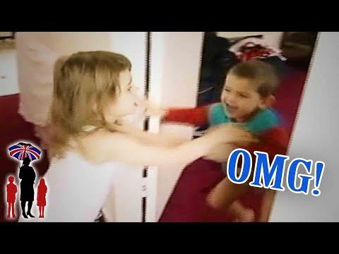 Supernanny | Violent Kids Fight Each Other For Attention