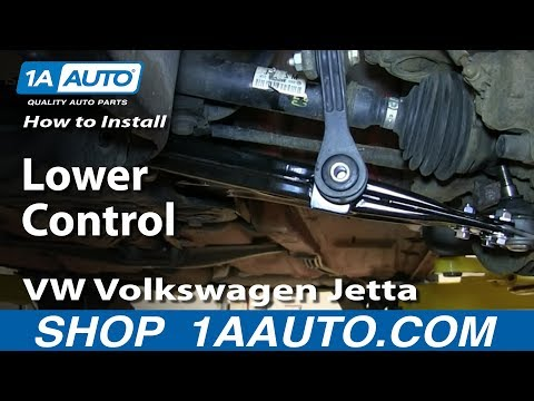 How To Install Replace Lower Control Arm 2000-05 VW Volkswagen Jetta
