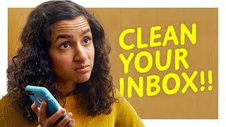 This Monster Doesn't Clean Her Inbox