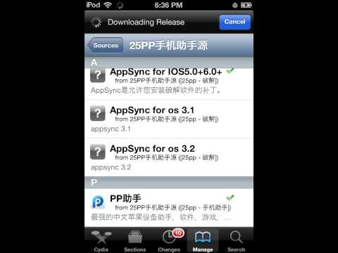 Free AppStore using Cydia