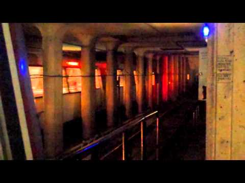 Brightest Subway Spark ever! (at the end) - [HD]