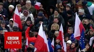Is Poland adopting 'Putin-style' politics? BBC News