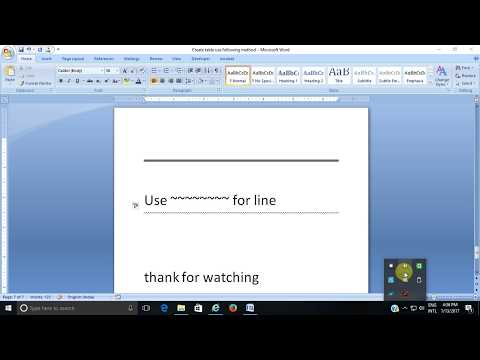 Shortcut Trick and tips in MS Word Microsoft Word
