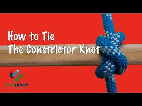 Constrictor Knot SUPER EASY!!