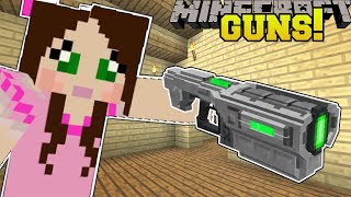 Minecraft: TECH GUNS!! (MISSILE LAUNCHER, ENERGY BLASTER, & SCAR RIFLE!) Mod Showcase