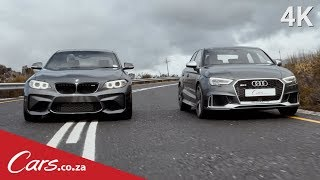2017 Audi RS3 vs BMW M2 - Which Is The Better Driver